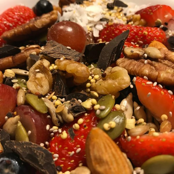 raw vegan cereal for energy