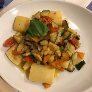 ordering vegan food in italy