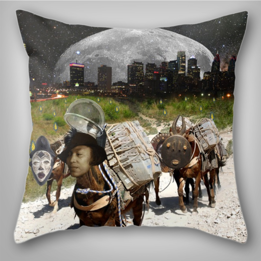 Zora Neale Hurston Throw Pillow