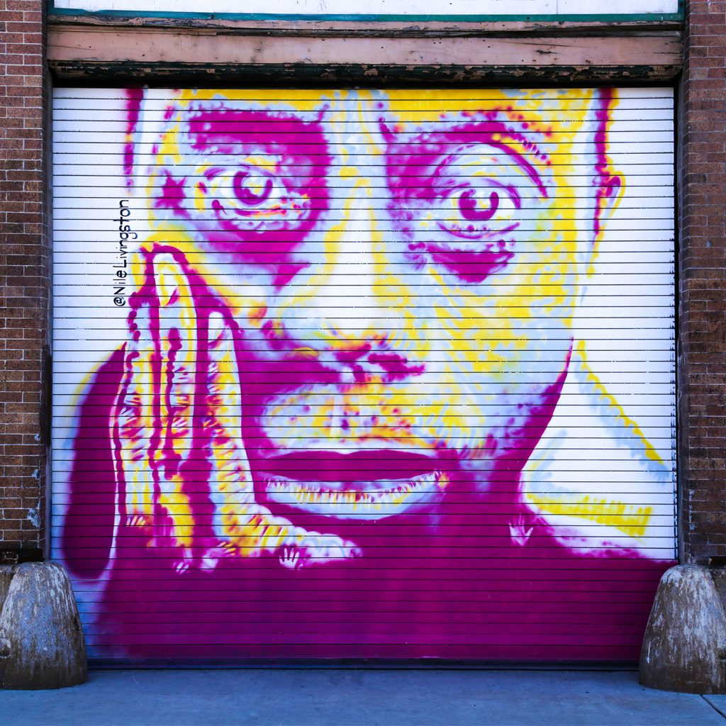 James Baldwin Temporary Mural Installed in Fishtown