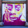nile livingston james baldwin mural spray paint