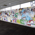 philly airport artist nile livingston african american female
