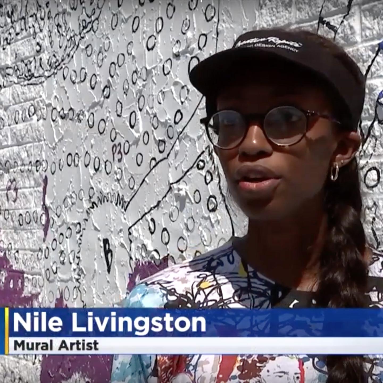 nile livingston malcolm jenkins playground mural art