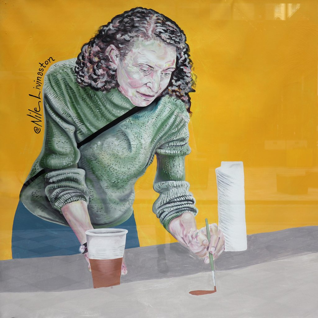 Jane Golden Painting Nile Livingston