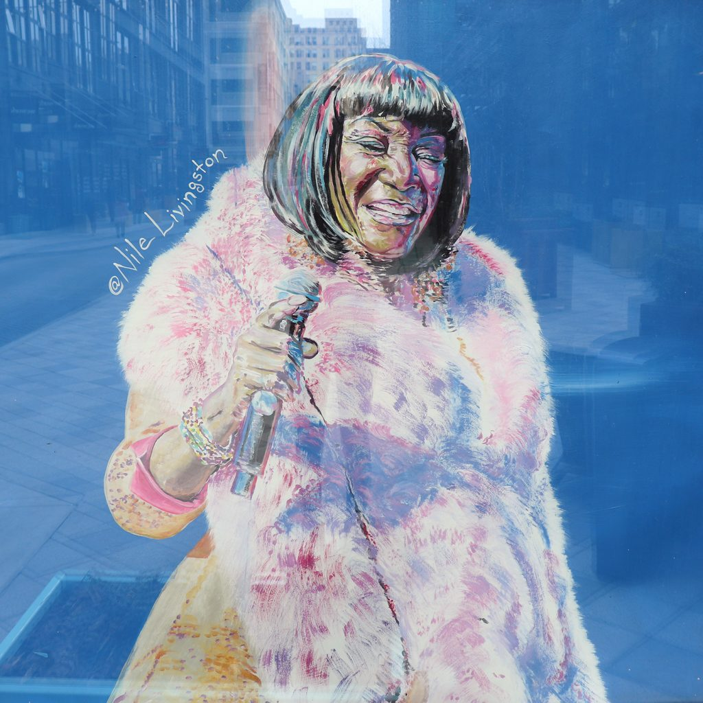 Patti Labelle Painting Nile Livingston
