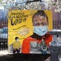protect against covid 19 art phiadelphia resource philly artist nile livingston hand washing station coronavirus corona mural painting pandemic 2020